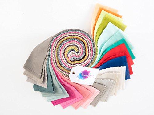 Craftsy Boundless Solids Call Me Contemporary Precut Fabric (2.5