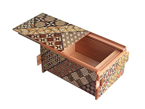 Japanese Puzzle Box 4sun 12steps