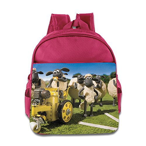 Kids Shaun The Sheep Movie School Backpack Style Children School Bags Pink