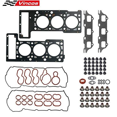 Vincos Engine Cylinder Head Gasket kit Replacement For Chrysler Sebring 300 Compatible with Dodge -