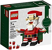 LEGO Bricks and More Santa 40206 Building Kit (155 Piece)