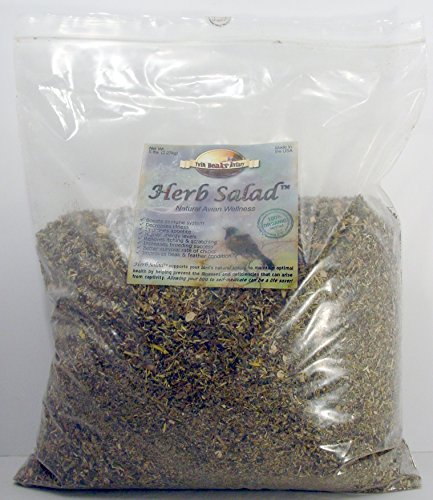 Herb Salad for All Birds (5 Pound) by Twin Beaks Aviary