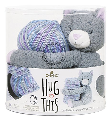 DMC Hug This Kitten Yarn Kit by Energi8_mar