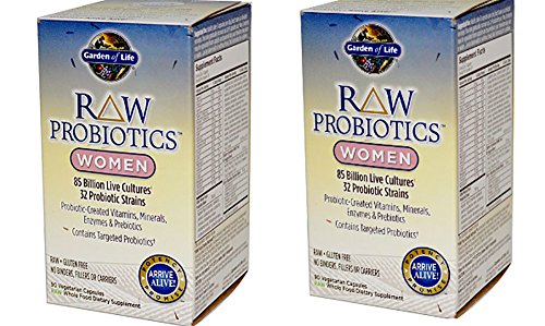 E Raw Probiotics for Women 2 Pack