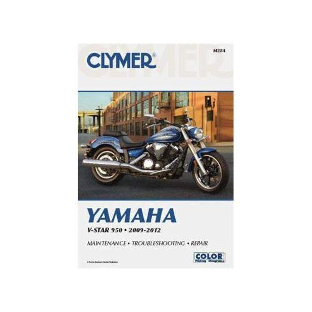 Amazon.com: Clymer Yamaha V-Star 950 (2009-2012): Manufacturer: Automotive