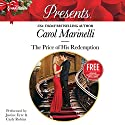 The Price of His Redemption: w/Bonus Book: Christmas at the Chatsfield Audiobook by Carol Marinelli, Maisey Yates Narrated by Justine Eyre, Carly Robins