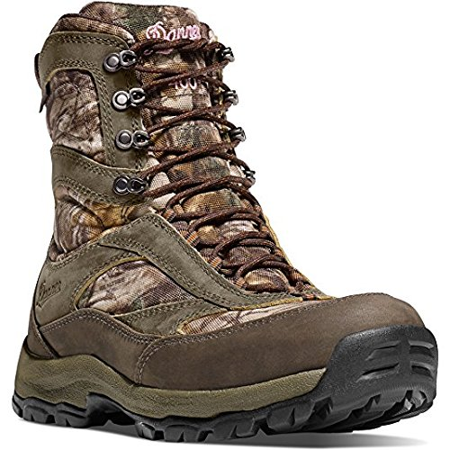 Danner Women's High Ground 8'' Mossy Oak Break-Up Country Camo Hunting Boots | Gore-TEX (GTX) Waterproof Hiking Leather Boots | Modern Battlefield Combat Boot (9.5 M) by Danner