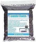 French Lavender Organic Lavender Flowers Culinary Grade 8 Oz