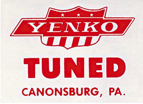 Camaro Yenko (YENKO WINDOW DECAL For Chevelle Camaro Nova 1964 1965 1966 1967 1968 1969 1970)
