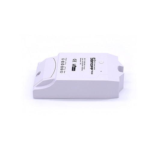 3 opinioni per Aihasd Sonoff TH 10A WiFi Smart Switch di temperatura e umidità monitoraggio