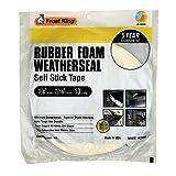 Frost King R738WH Rubber Foam Self-Stick