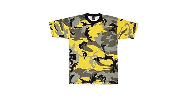 Amazon.com  Yellow Stinger Camo T-Shirt  Clothing 16f21fd4439