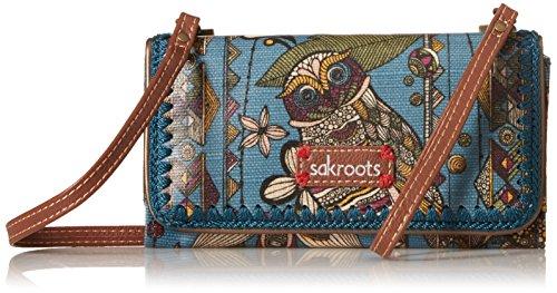 sakroots-artist-circle-tech-wallet-crossbody-lagoon-spirit-desert