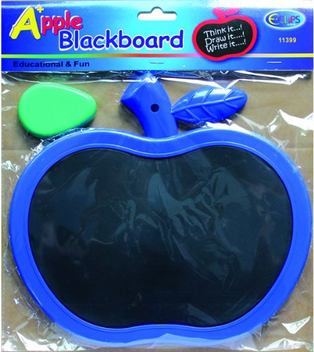 Apple Blackboard with chalk eraser. 48 pcs sku# 1302561MA by DDI