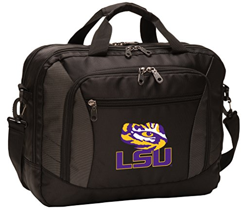 Broad Bay LSU Tigers Laptop Bag Best NCAA LSU Computer Bags by Broad Bay