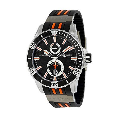 Ulysse Nardin Maxi Marine Diver Automatic Black Dial Black Rubber Mens Watch 263-10-3-952 (Ulysse Maxi Nardin)