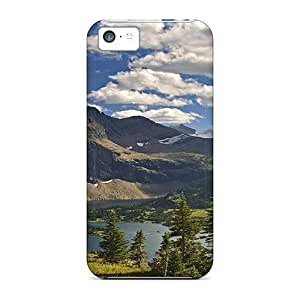 MMZ DIY PHONE CASEAwesome Case Cover/iphone 4/4s Defender Case Cover(lake In Montana)