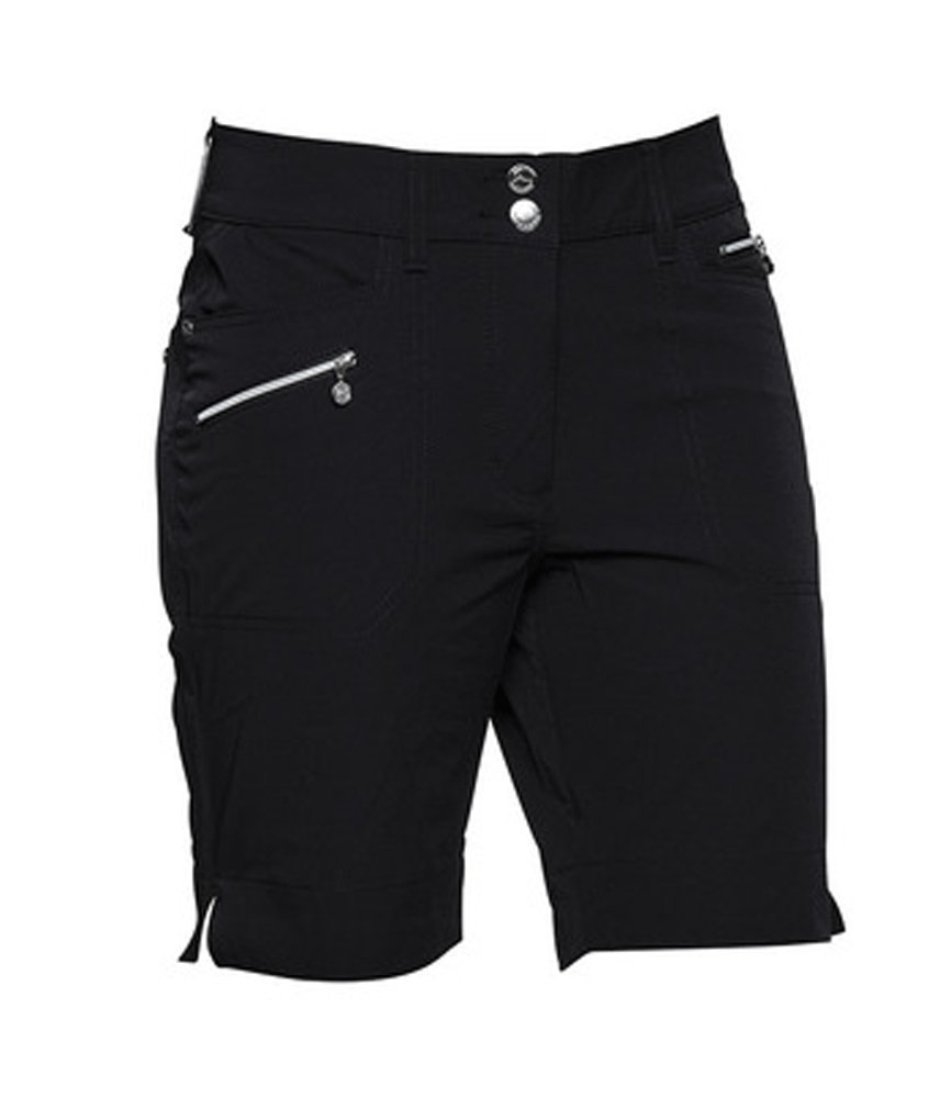 Daily Sports Womens Shorts - Miracle (Shorter Version) Black - Size 10 by Daily Sports