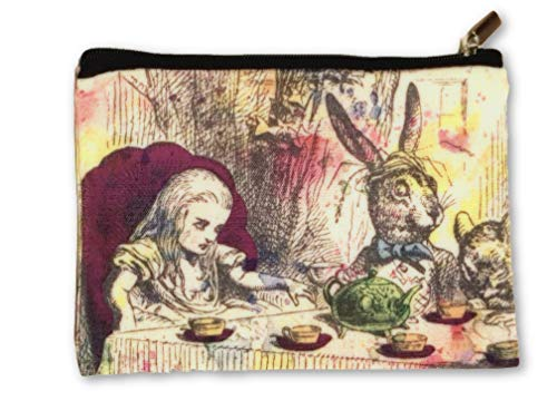 Alice in Wonderland Cosmetics Bag Travel Make Up Pouch Purse ()