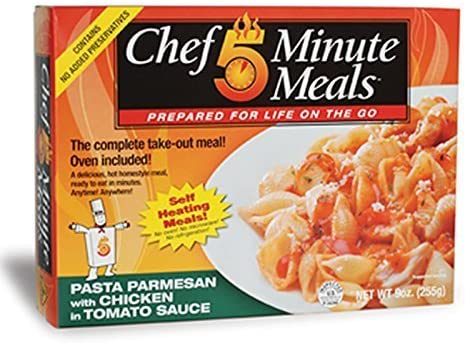 Liberty Mountain Sports LLC Chef 5 Minute Meals Chicken Pasta ...