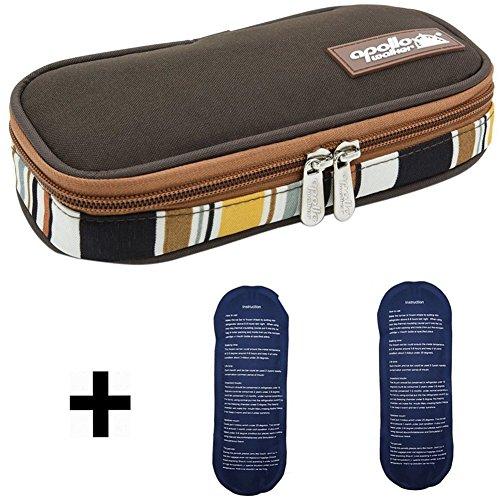 APOLLO WALKER Insulin Cooler Travel Case Bag Diabetic Org...