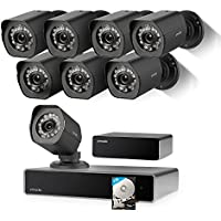 Zmodo 1080p Full HD Outdoor Security Camera 8-Ch. NVR sPoE Repeater System with 1TB HDD