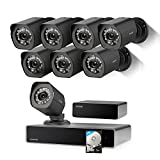 Photo : Zmodo Full HD 1080p Simplified PoE Security Camera System w/Repeater, 8 x 2.0 Megapixel IP Outdoor Surveillance Camera, 8CH HDMI NVR and 1TB Hard Drive