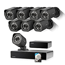 Zmodo Full Hd 1080p Simplified Poe Security Camera System Wrepeater, 8 X 2.0 Megapixel Ip Outdoor Surveillance Camera, 8ch Hdmi Nvr & 1tb Hard Drive