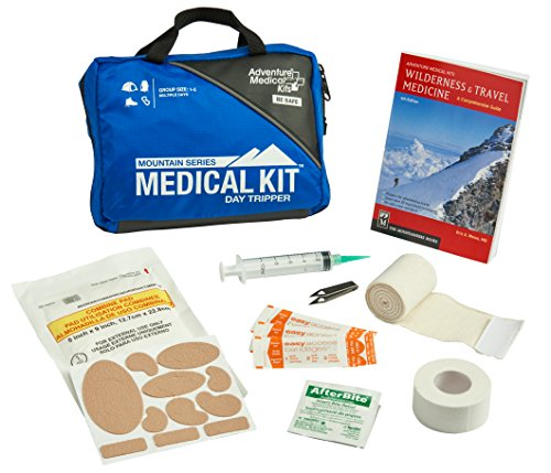 Adventure Medical Kits Mountain Series Daytripper First Aid Kit, Backcountry Medical Care, Comprehensive Guide, Easy Care, Water-Resistant Zipper, Durable Case, Lightweight, -