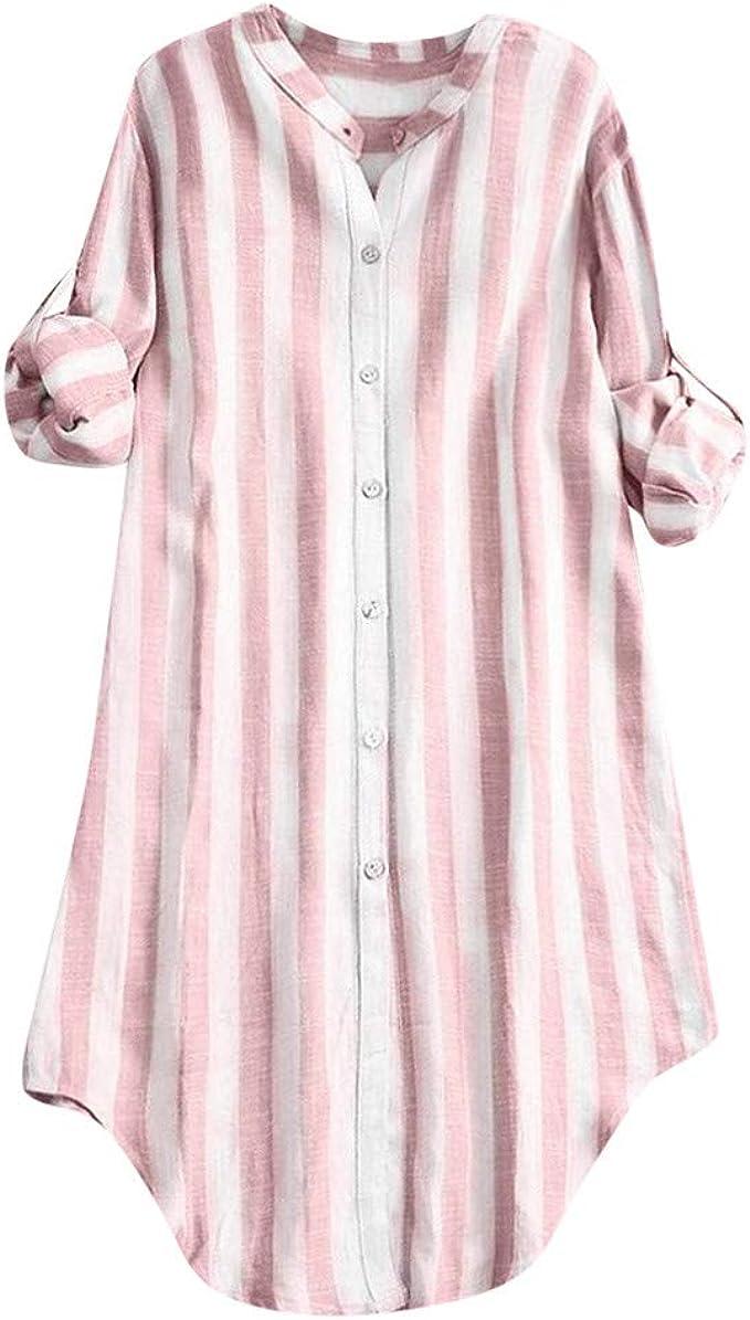 Poachers Camisas Mujer Tallas Grandes Fiesta Camisetas Mujer Verano Anchas Blusas para Mujer Verano Blusas Mujer Tallas Grandes de Vestir Tops Mujer Verano 2019 Manga Larga: Amazon.es: Ropa y accesorios