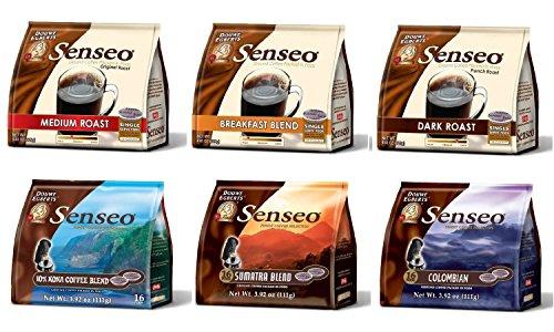 Senseo Coffee Maker XL - Model 2018 Bundle including Senseo Coffee Variety Pack Sampler -6-flavor (Pack of 6) by Senseo (Image #5)