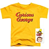 Curious George Logo Toddler T Shirt & Exclusive Stickers