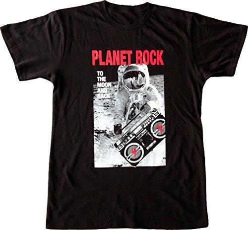 ISB Products Ill Street Blues Planet Rock Hip Hop T-Shirt - Medium - Black