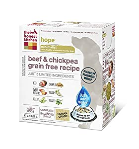 The Honest Kitchen Hope Dehydrated Minimalist Limited Ingredient Dog Food, 4 lb