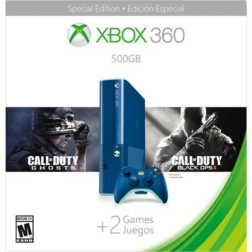 Xbox 360 500GB Blue COD BO2