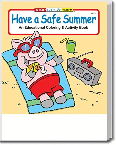 Have a Safe Summer Kid's Coloring & Activity Book in Bulk
