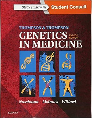 Thompson And Thompson Genetics In Medicine 8th Edition Pdf