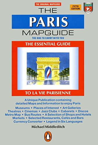 Paris Street Map - The Paris Mapguide