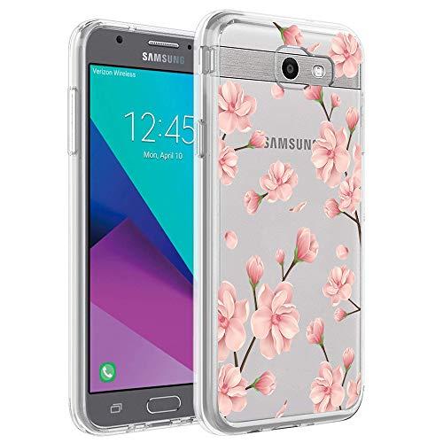 Pacyer - Carcasa de Silicona para Samsung Galaxy J7 2017, diseño de Cactus, 4, Large