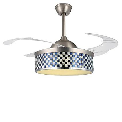 Chandelier Fan Chandelier Modern Crystal Ventilador de techo ...