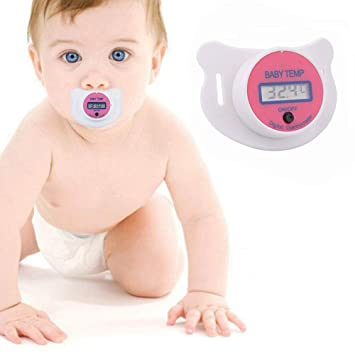 Amazon.com: Vkermury - Termómetro para chupete de bebé ...
