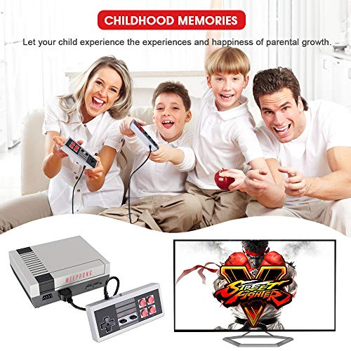 MEEPHONG Retro Game Console, HDMI HD NES Console Classic Game Console Built-in Hundreds of Classic Video Games by MEEPHONG (Image #5)