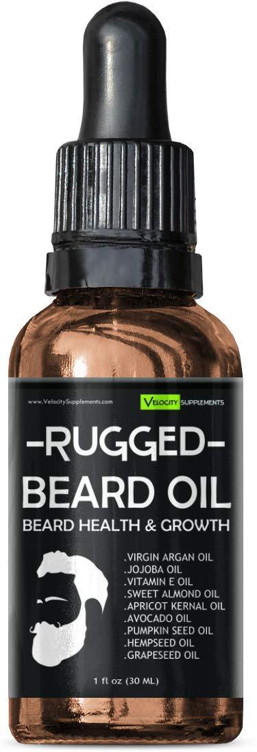 Beard Oil for Beard Growth, Beard Thickness, Beard Scent & Beard Health by Velocity Supplements (Image #8)