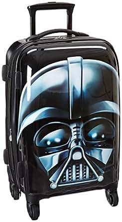 American Tourister Star Wars 21 Inch Hard Side Spinner, Darth Vader,