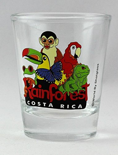 Costa Rica Rainforest Shot Glass