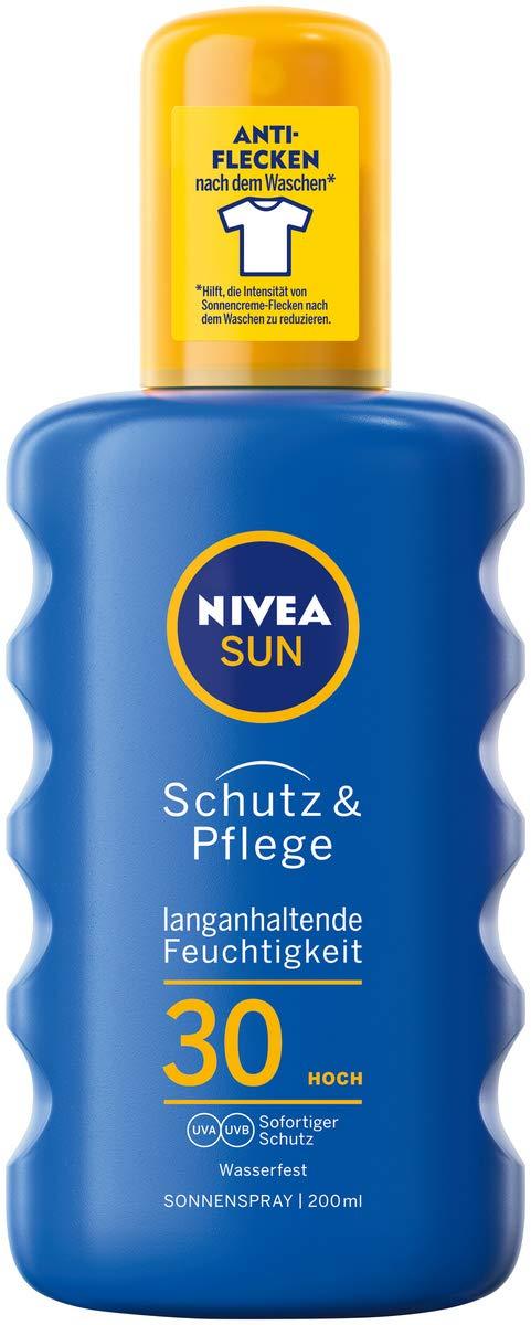 Nivea Sun Schutz Pflege Sonnenspray Im 1er Pack 1 X 200 Ml