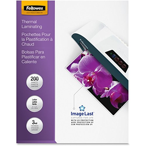 Laminating Pouch, 3mil., Ltr, 200/PK, Clear, Sold as 1 Packa