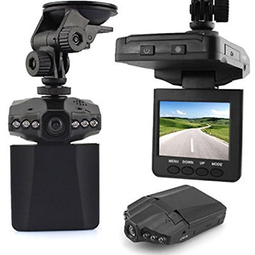 "Dash Cam, Car Dash Camera, MONOLED 2.5"" 270 Degree Wide View Angle 6 LED Night Mode Dashboard Recorder"