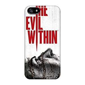 Iphone Case - pc Case Protective For Iphone 5/5s- The Evil Within Game