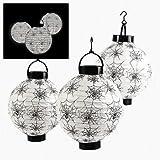Spider And Spiderweb Light-Up Lanterns